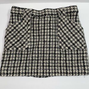 100% wool  J. Crew skirt with liner